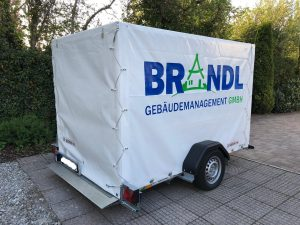 Anhängervermietung - Brandl Gebäudemanagement GmbH München